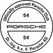 Officially approved Porsche Club 54
